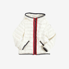 Moncler for Kids 'Raie' Down Jacket -White