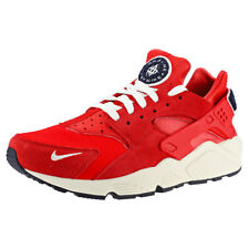 Nike Air Huarache Run Premium Red Sail Mens Trainers - 704830-602
