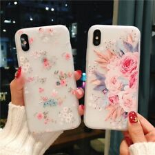 Flower Case For iPhone 6S 7 6 8 Plus XS Max X Cover Silicone
