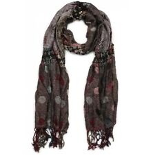 Foulard Gris Rose Snek Nyls Creation