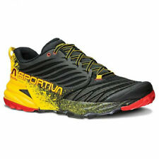 La sportiva akasha mountain running black yellow scarpe new trail 41 42 43 44 45