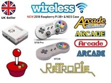 RETRO ARCADES, Wireless,Wired 8Bitdo Raspberry Pi 3B+ Retropie Arcade Console