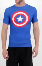 Super Offer - UNDER ARMOUR Alter Ego T-Shirt Captain America Compression