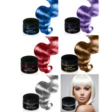 BlueZOO 120g desechable Temporal Pomada de Color de Pelo Unisexo DIY Natural PB