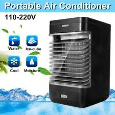 Mini Portable Air Conditioner Cooler Fan Cooling Desktop Home Office Summer Cool