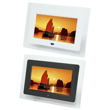 7 INCH HD LCD DIGITAL PHOTO FRAME PICTURE ALBUM CLOCK CALENDAR MP3 MP4 MOVIE
