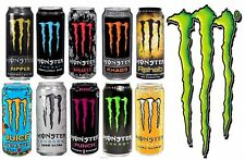 Monster Energy / Ultra / Juice Drinks 12 Cans x 500ml PM Choose from 14 Flavours