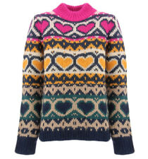 My Twin Twinset maglione made in Italy con cuori per donna My Twin Twinset YAB3D