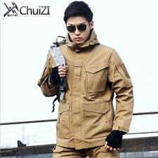 FIELD JACKET MENS VINTAGE TYPE MILITARY ARMY COAT QUILTED LINER