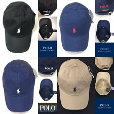 Brand New With Tag Men's RALPH LAUREN  Polo Small Pony Baseball Cap Black, Blue