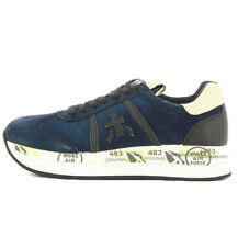 Premiata CONNY1491 Conny sneaker 1491 blue color with organza for woman