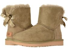 Women's Shoes UGG MINI BAILEY BOW II Boots 1016501 ANTILOPE *New*