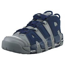 Nike Air More Uptempo 96 Grey Navy Mens Trainers - 921948-003