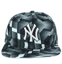 New Era MLB 9Fifty Ny New York Yankees Noir et Blanc Casquette Baseball