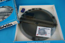 Marklin 7186 Turntable TIN PLATE 80-ies Blue OVP