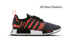 "Adidas NMD R1 ""Core Black-Solar Red-Core"" Men's Trainers All Sizes Limited Stock"