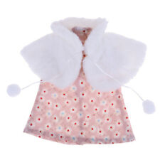 """Adorable Doll Cape Dress Set for 18"""" AG American Doll Doll Clothes Accessories"""