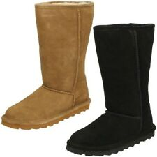 Ladies Bearpaw Real Sheepskin Lined Casual Boots Elle Tall