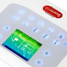 Full Color Screen GSM PSTN Security Alarm System Motion Detector APP Control MS