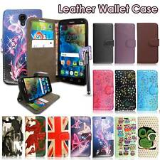BUY 1 GET 1 FREE Alcatel One Touch Pixi 3/4 Wallet Case Mobile Phone Flip Cover
