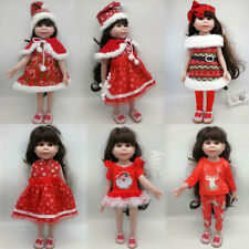 "Christmas Costumes Clothes for 18"" American Girl Our Generation My Life Dolls"