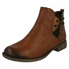 Ladies Remonte Heeled Ankle Boots D4976