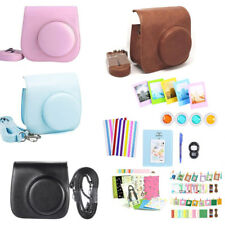 For Fujifilm Fuji Instax Mini 8 Mini 9 Film Camera Leather Bag Shoulder Case UK