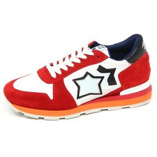 E9396 sneaker uomo red/black ATLANTIC STARS SIRIUS scarpe shoe man