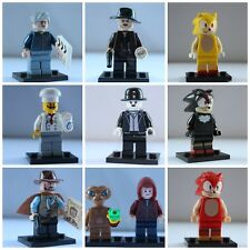 Movie Horror Film Science Fiction Cowboy War Mini Figures Toys Use With Lego