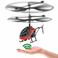 Drone Helicopter RC Mini Infraed  Flashing Light Aircraft Novelty Toys Kid Gift
