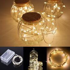 2M 20LEDs Copper Wire String Light AA Battery Fairy LED Party Lights Xmas Decor