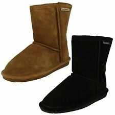 Girls Bearpaw Real Sheepskin Lined Boots Eclipse Youth