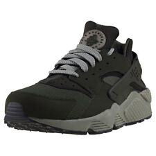 Nike Air Huarache Mens Olive Mesh & Synthetic Trainers