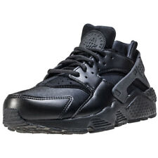 Nike Air Huarache Run Womens Black Black Textile & Synthetic Trainers