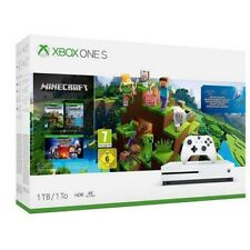 Microsoft One S - 1 TB - Minecraft + Explorer's Pack+ Minecraft:Story