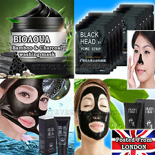 Blackhead Remover Black Mud Face Masks Peel Off Facial Cleansing Nose Pore Skin