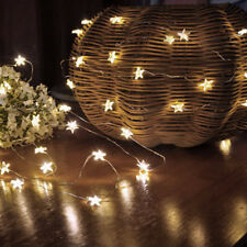 2M 20 Led Christmas LED Copper Wire String Lights Party Xmas Tree Home Decor BHC