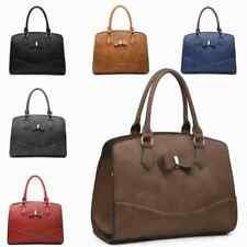 Ladies New Season Faux Leather Bow Handbag Doctor Shoulder Bag Tote Bag MW2455