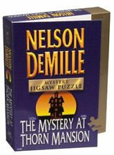 Nelson DeMille Mystery Jigsaw Puzzle The Mystery at Thorn Mansion 1000 Piece ...