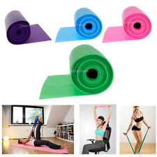2m Yoga Elastic Belt Exercise Band Stretch Belt Resistance Trainer Unisex