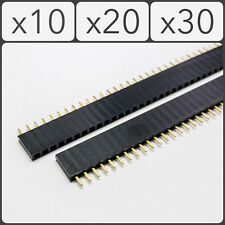 40 Pin 2.54mm Pitch Female Straight Pin Header Connector