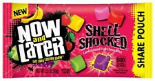 Now & Later Shell Shocked Fruit Chewy Bites Candy, 3.5 Ounce Bag, Pack of 18