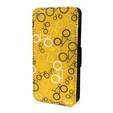 Ciclismo Bici Estampado Funda Libro para Apple Ipod - S6641