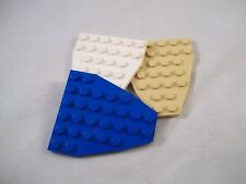 LEGO 2625 Wedge Plate 7 x 6 without Stud Notches Boat Bow Plate x2