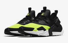 NEW Nike Air Huarache Drift Run Shoes Volt Black White AH7334-700 Men's