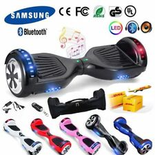 6,5 LED Patinete Electrico Scooter Bluetooth Overboard Self Balance +Bolso Mando