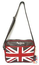 Sac bandoulière PEPE JEANS drapeau anglais OTIS BAG brown marron PM030283