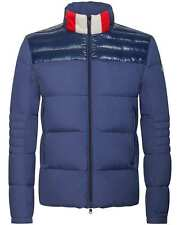 New AW18 Moncler Bassias Down Jacket - Blue