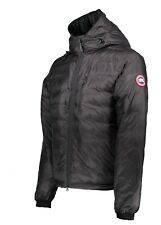 New Mens Canada Goose Lodge Hoody Jacket RRP £525 - Graphite/Black