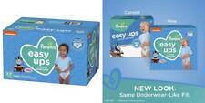 Pampers Easy Ups Training Pants Pull On Disposable Diapers for Boys, Size 5...